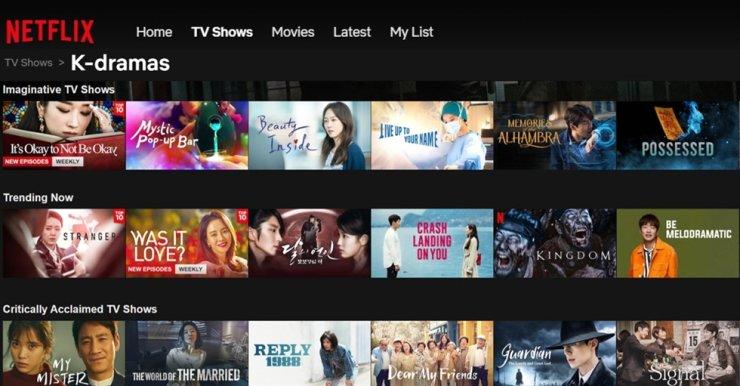 Netflix mở rộng tầm ảnh hưởng tại thị trường Hàn Quốc.