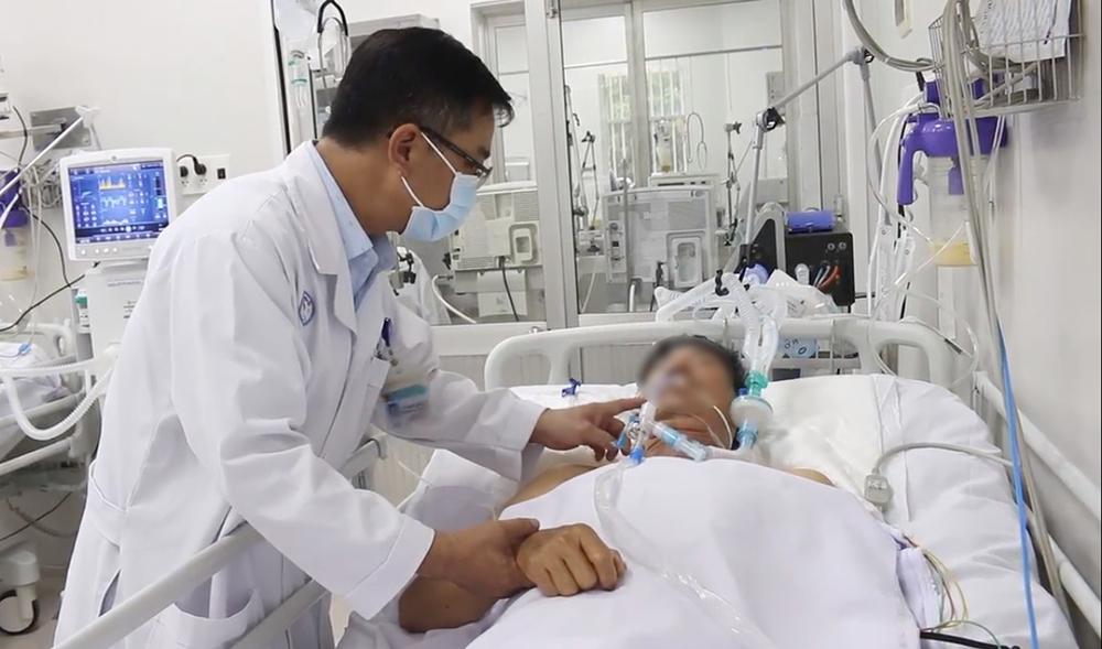 Một bệnh nhân sử dụng pate Minh Chay đang được điều trị tại Bệnh viện Chợ Rẫy