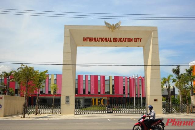 Cổng chính vào thành phố giáo dục quốc tế Quảng Ngãi