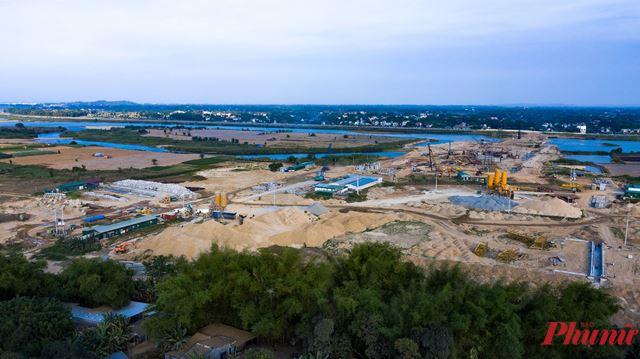 Công trình Đập dâng hạ lưu sông Trà Khúc khi được phê duyệt không phù hợp với quy hoạch thủy lợi, vi phạm Luật Xây dựng năm 2014