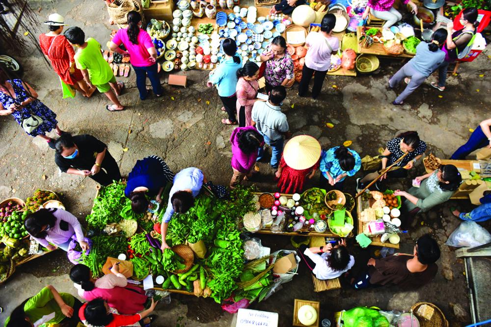Đặc sản quê được bày bán tại nhiều chợ ở TP.HCM