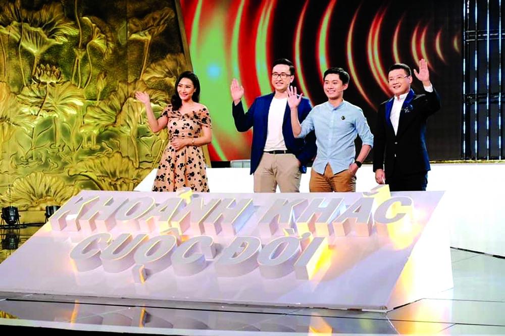 Trần Ngọc Thái tham gia chương trình  Khoảnh khắc thay đổi cuộc đời của HTV  ảnh: facebook nhân vật