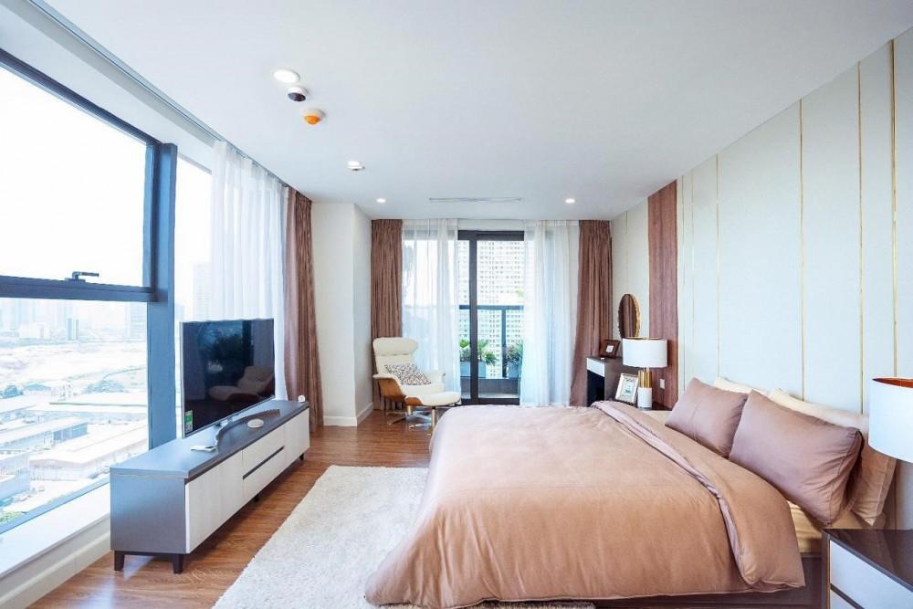 Căn hộ lớn 3-4PN cùng thiết kế các phòng ngủ có lô gia thông thoáng luôn là sự lựa chọn tối ưu cho mọi gia đình về phong thủy (căn hộ tại dự án Sunshine Center)