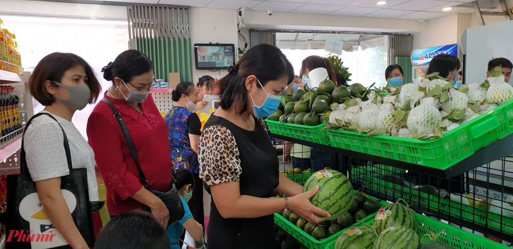 Hội LHPN quận Tân Phú sẽ tiếp tục đồng hành hỗ trợ, giới thiệu điểm bán rau sạch đến hội viên phụ nữ và người tiêu dùng