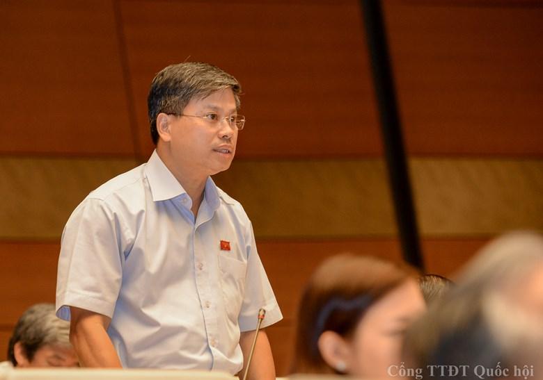 ĐBQH Nguyễn Sỹ Cương bày tỏ sự lo ngại tiêu cực trong việc cấp ĐTM