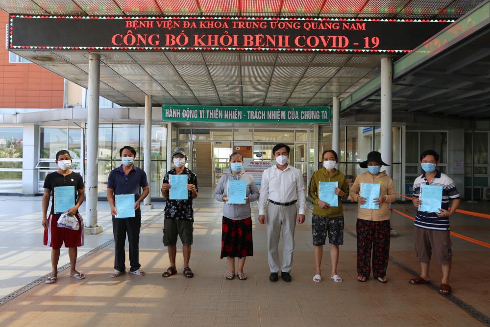 Đến thời điểm hiện tại, đã có 42/96 bênh nhân được điều trị khỏi COVID- 19