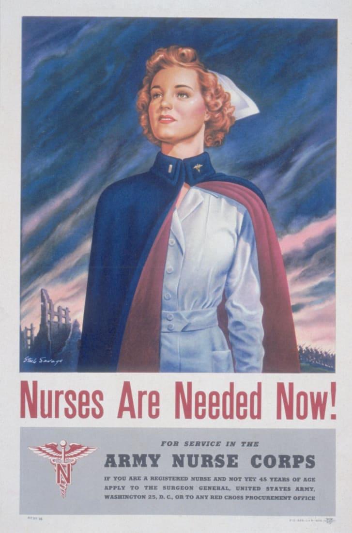 Hình minh họa của J. Howard Miller về Rosie the Riveter, biểu tượng văn hóa được sử dụng để tuyển dụng và trao quyền cho các nữ công nhân nhà máy Mỹ, đặc biệt có đôi môi mọng như anh đào.