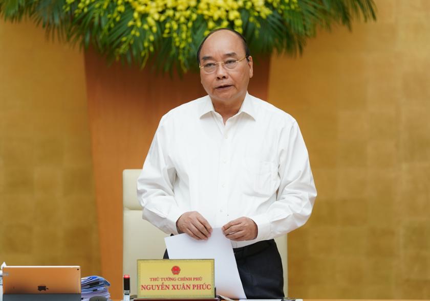 Thủ tướng Nguyễn Xuân Phúc chủ trì phiên họp sáng 4/9