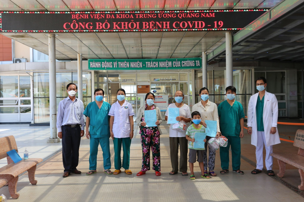 Thêm 4 bệnh nhân được chữa khỏi COVID- 19 và được cho xuất viện tại Quảng Nam