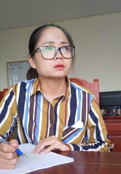 Bị can Nguyễn Hồng Vân.