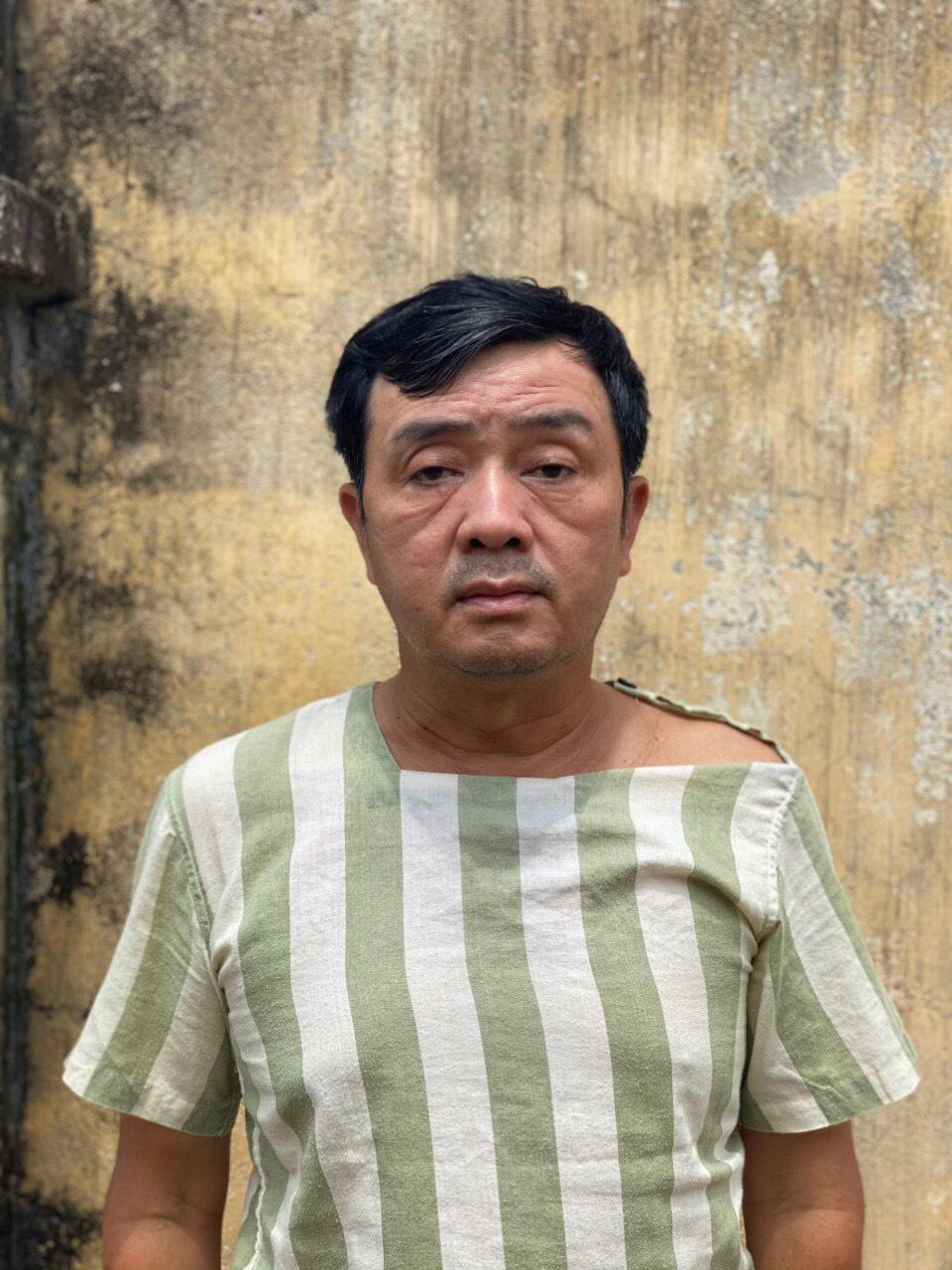 Võ Thanh Long tại cơ quan công an