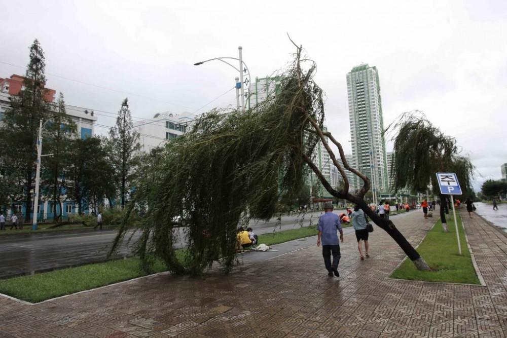 Hai cơn bão mạnh đã đổ bộ vào Triều Tiên trong tuần qua.