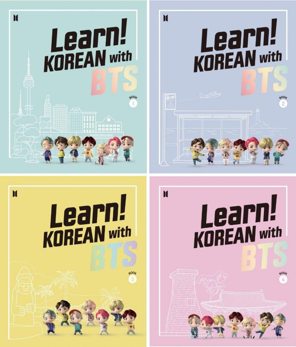 Bộ sách học ngôn ngữ Hàn Quốc có sự kết hợp giữa ngôn ngữ và Kpop