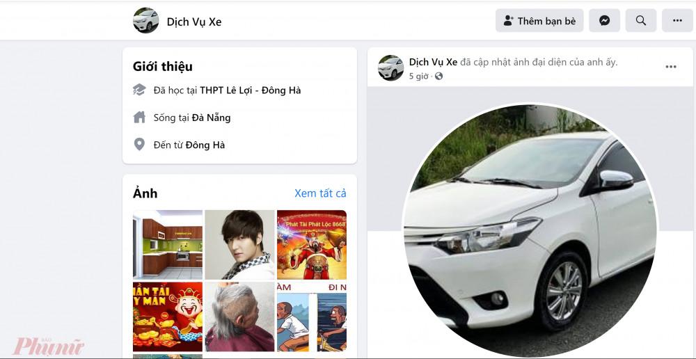 Sau khi lừa đảo xong, đối tượng đổi avatar và tên Facebook