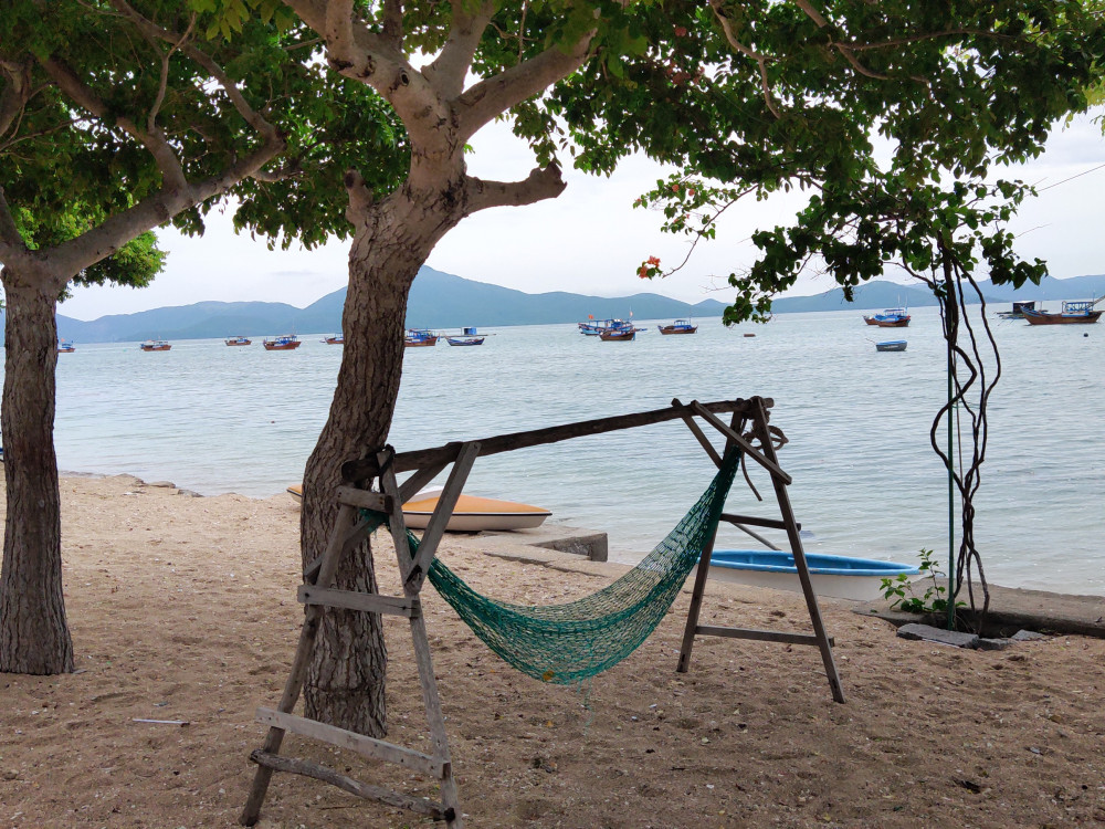 Homestay trên đảo ( nhà của ngư dân)