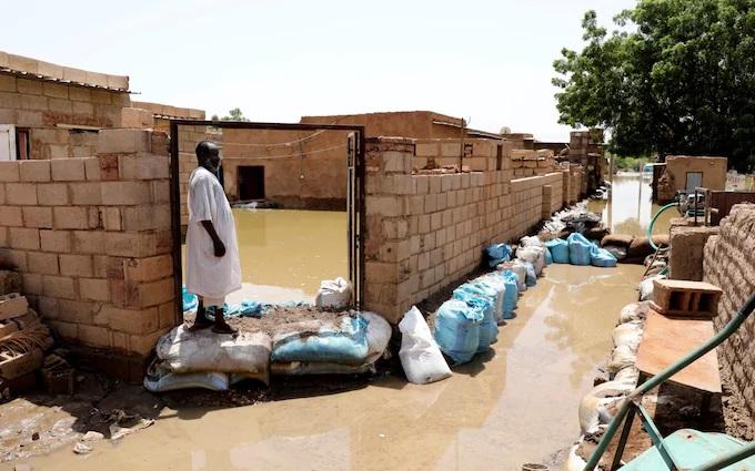 Chính phủ Sudan cho biết hơn 500 ngàn người trên khắp đất nước đã bị ảnh hưởng trong đợt mưa lũ lần này