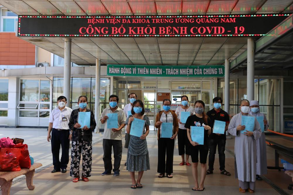 Đến thời điểm hiện tại, Quảng Nam đã có 65/96 bệnh nhân được chữa khỏi COVID- 19
