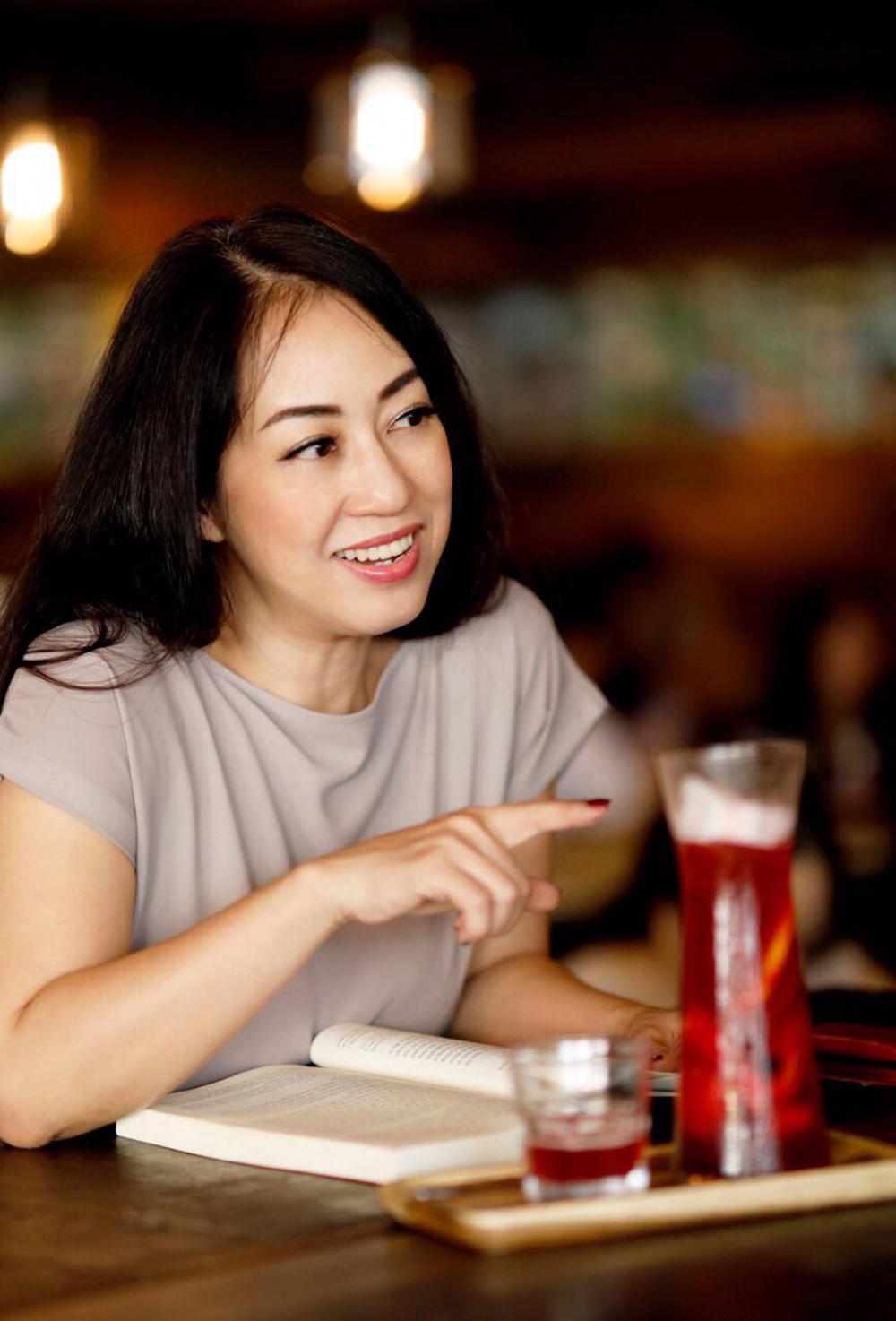 bà Trần Thị Xuân Quyên - Giám đốc tư vấn đào tạo Công ty Quản lý bất động sản nghỉ dưỡng và giải trí quốc tế IRR