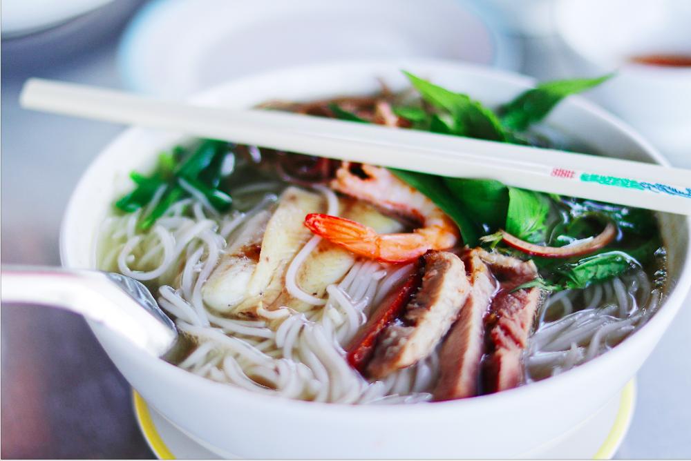 Việt Nam có nhiều món sợi và nước nhất