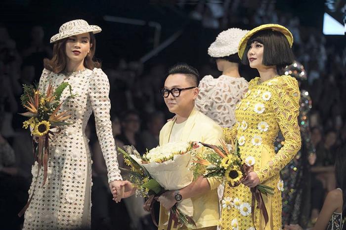 NTK Nguyễn Công Trí trình diễn BST trong khuôn khổ Tuần lễ Thời trang Quốc tế Việt Nam