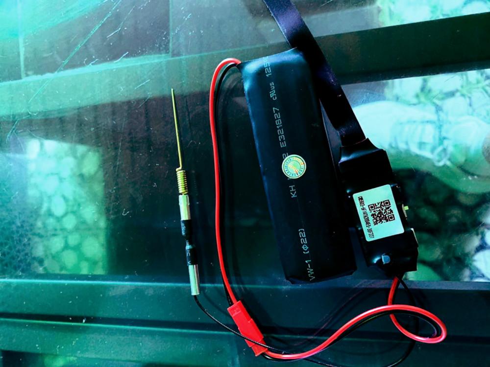 Thiết bị quay lén tinh vi được đặt trong quán cà phê của chị Phương ở Q.10, TP.HCM