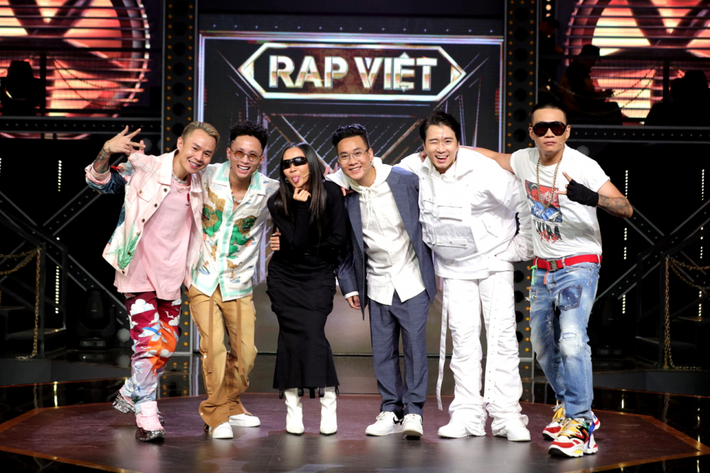 Rap Việt - một trong hai gameshow đình đám nhất hiện nay