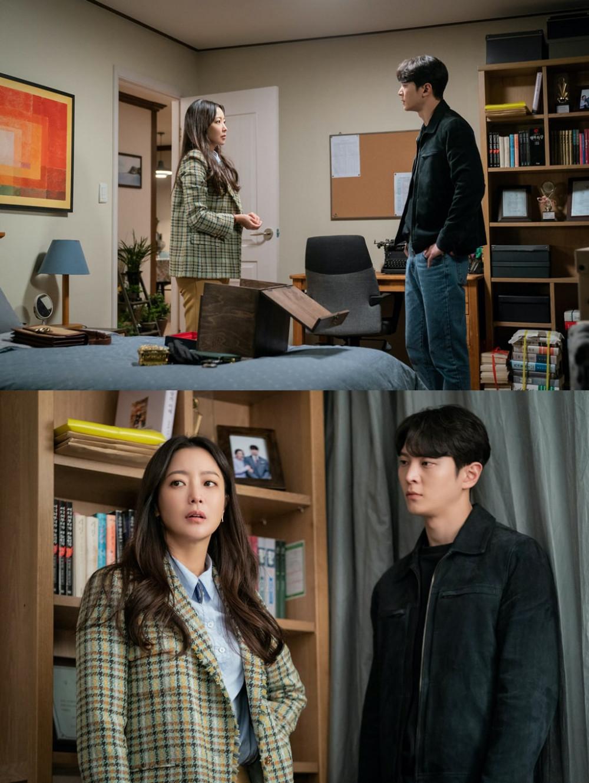 Jin Kyum hợp tác cùng Tae Ri tìm hiểu về cỗ máy thời gian.
