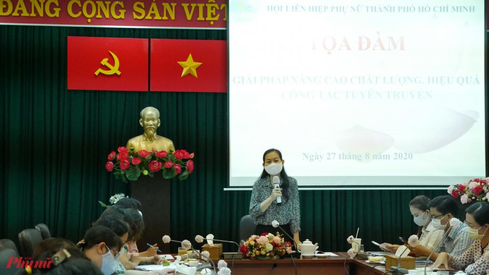 Một buổi tọa đàm do Hội LPPN TPHCM tổ chức