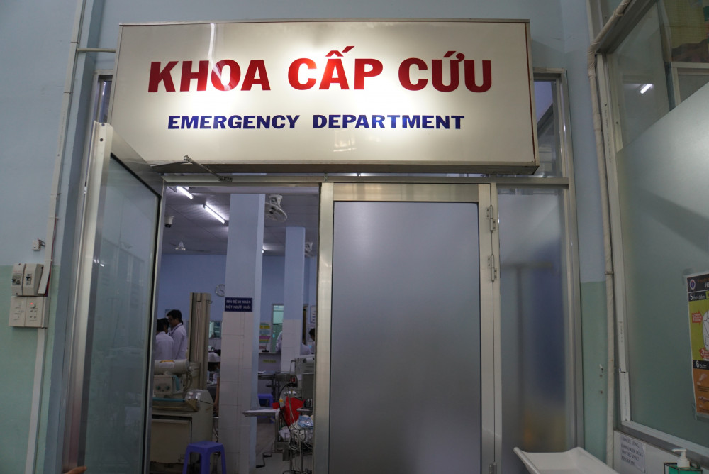 Khoa Cấp cứu Bệnh viện Nhi đồng 1 TPHCM