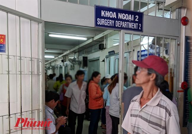 Bệnh nhân đang điều trị tại Bệnh viện Ung bướu TPHCM.