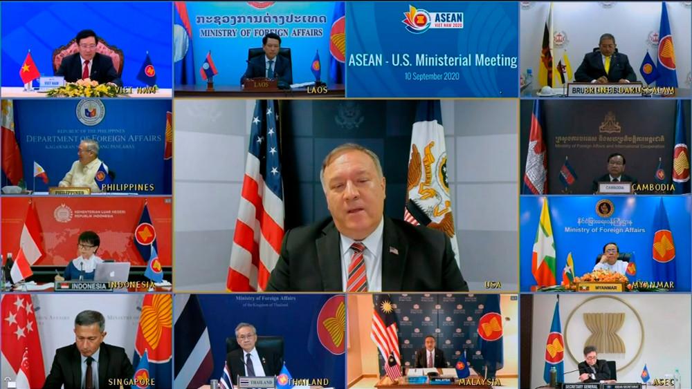 Ngoại trưởng Mỹ Mike Pompeo tham gia cuộc họp các bộ trưởng ngoại giao ASEAN do Việt Nam chủ trì.