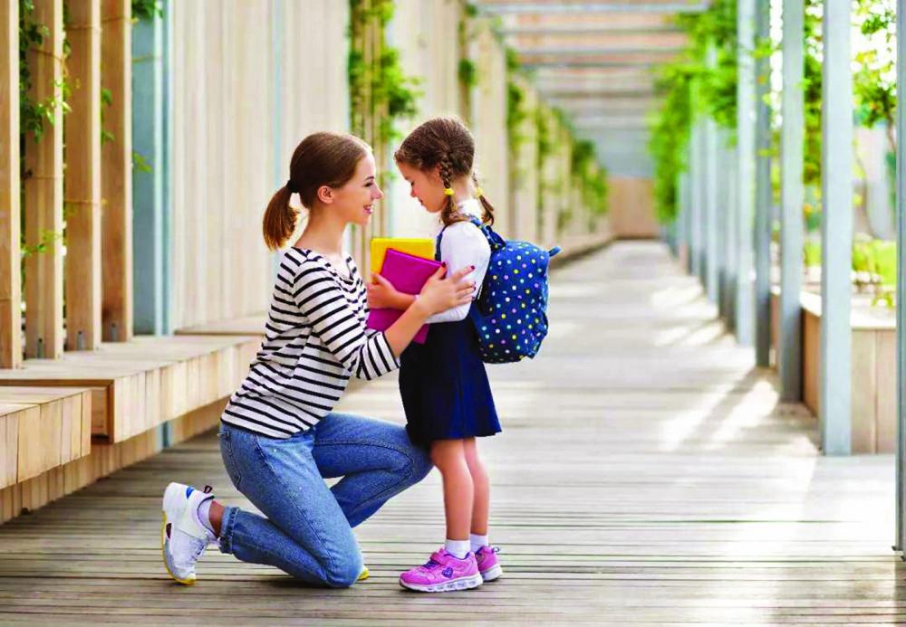 Cha mẹ hãy chuẩn bị tâm lý  cho con trước khi con  chuyển về trường mới