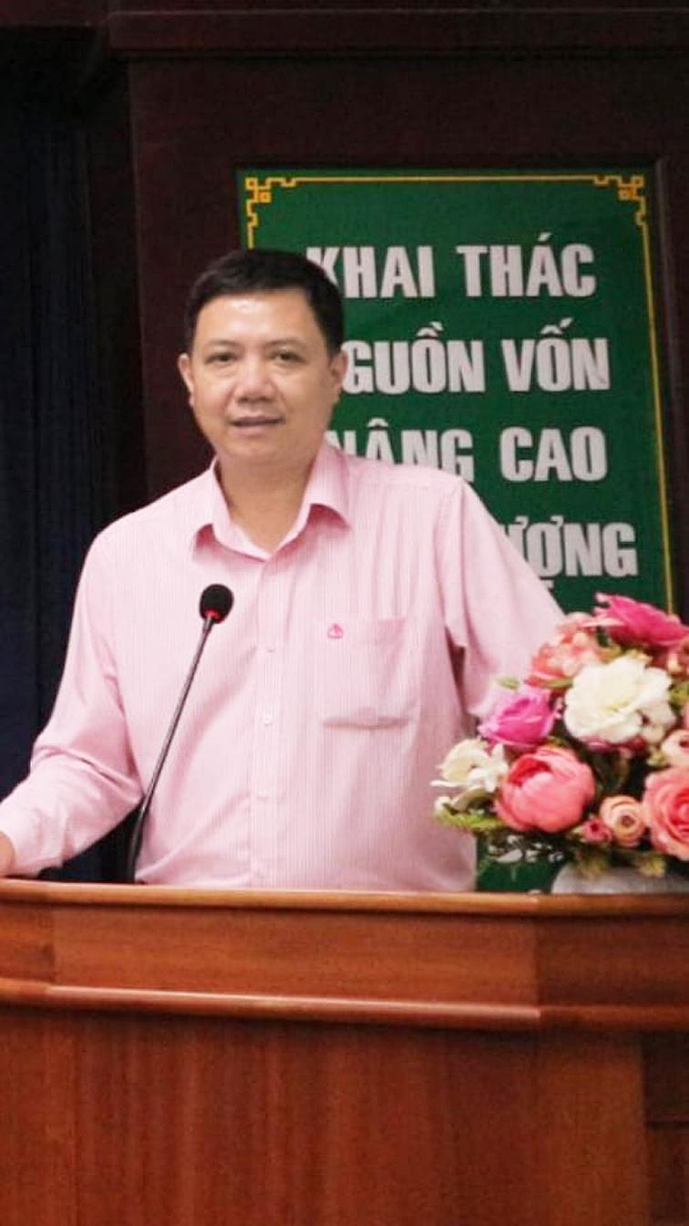 ông Trần Văn Tiên, Giám đốc Ngân hàng Chính sách xã hội TPHCM