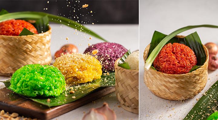 Xôi ngũ sắc - một trong những món xôi độc đáo của người Việt