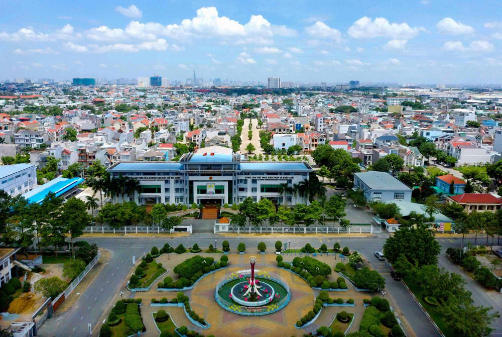 TP.Thuận An có tốc độ phát triển kinh tế vượt bậc và tốc độ đô thị hóa nhanh