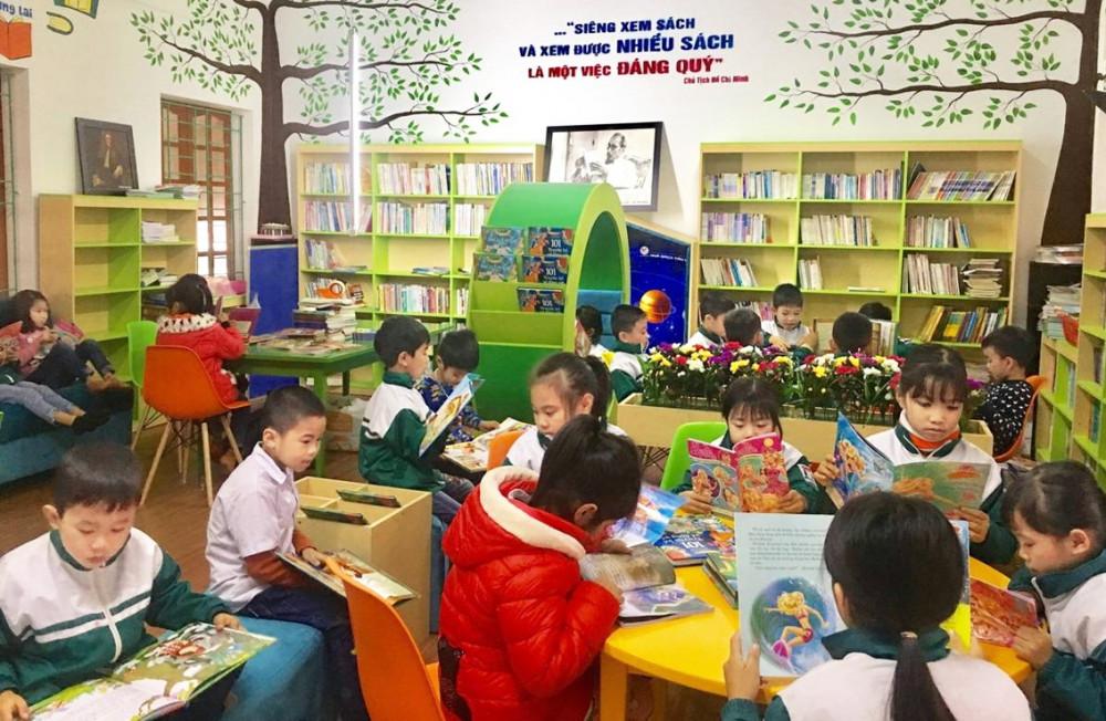Cần tạo thói quen đọc sách cho trẻ ngay từ nhỏ