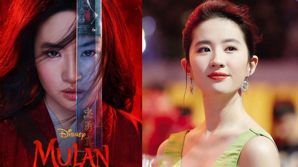 Lưu Diệc Phi bị chê diễn xuất khi vào vai Mộc Lan.