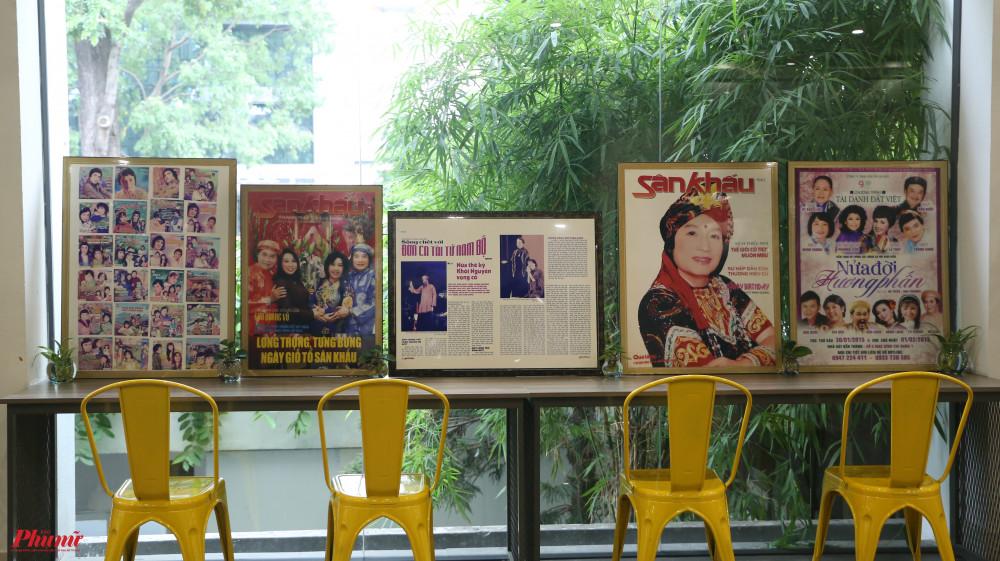 Các ảnh đang được trưng bày tạm trước khi đưa ra triển lãm chính thức. Hiện khán giả có thể liên hệ trước để xem các tranh được trưng bày, tuy nhiên, hiện chỉ có một số tranh được tập hợp. Các tranh sẽ được NSND Minh Vương chuyển đến trước ngày 26/9.