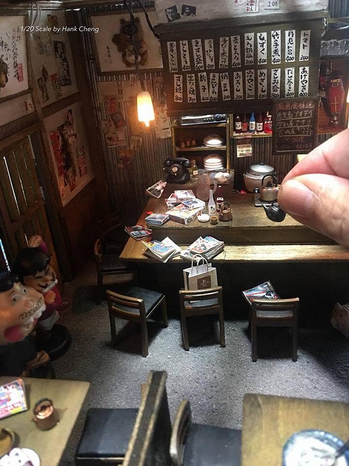 Bên trong nhà hàng Nhật với những chi tiết trang trí tỉ mỉ