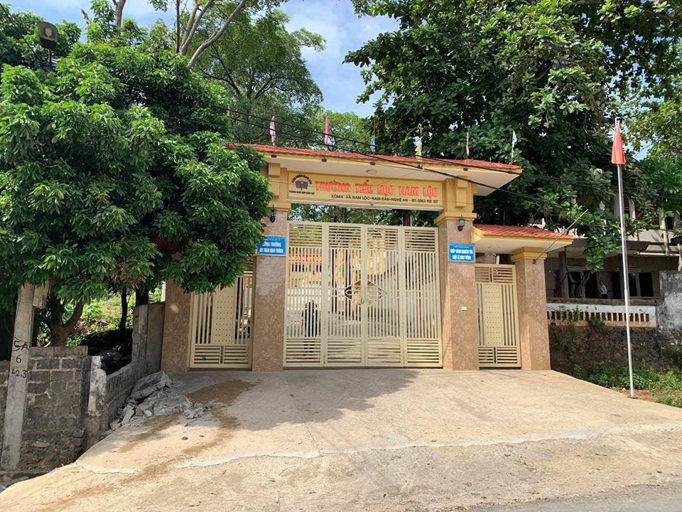 Trường tiểu học Nam Lộc, nơi xảy ra sự việc