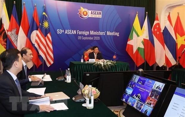 Phó Thủ tướng, Bộ trưởng Bộ Ngoại giao Phạm Bình Minh chủ trì Hội nghị Bộ trưởng Ngoại giao ASEAN lần thứ 53