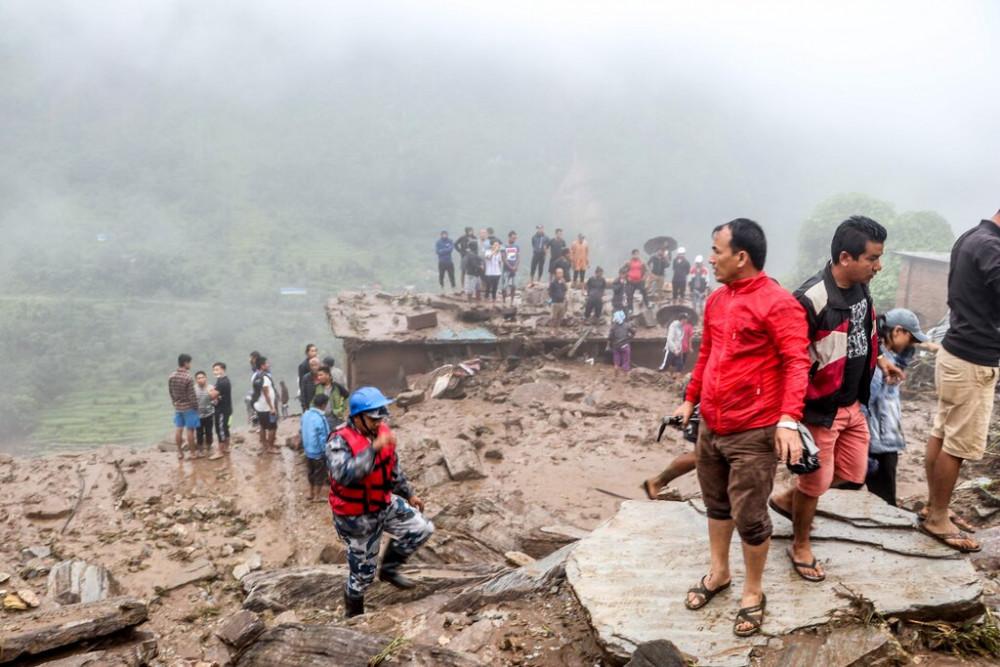 Vụ lở đất mới nhất ở Nepal khiến ít nhất 12 người thiệt mạng, 21 người bị thương