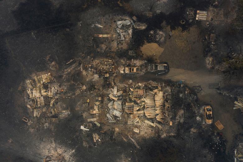 Một trang trại ở Eagle Point, Oregon bị san bằng sau vụ cháy
