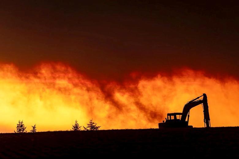 Đám cháy ở thành phố Salem