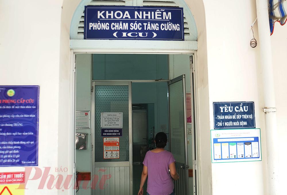 Trong số trẻ mắc sốt xuất huyết nhập viện điều trị, đã có trẻ trở nặng phải điều trị tích cực.