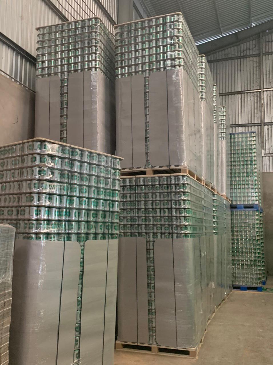 Hình ảnh cơ sở làm bia có bao bì, mẫu mã in sản phẩm bia Saigon tại Bà Rịa - Vũng Tàu (Ảnh QLTT)