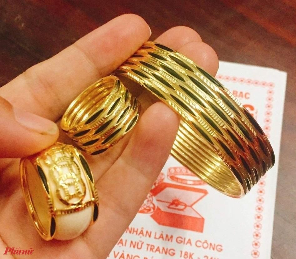 Nhiều nơi gọi vàng 18K nhưng trên sản phẩm chỉ có 70% vàng thay vì 75%, thậm chí chỉ có 61%