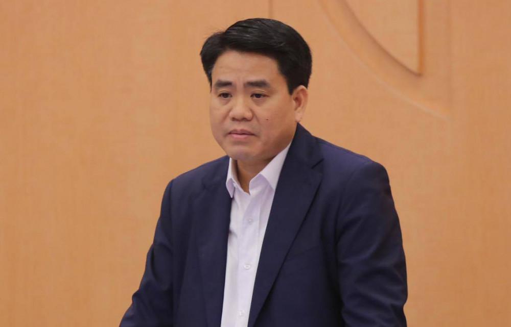 Ông Nguyễn Đức Chung vừa bị khởi tố vì liên quan tới một số vụ án.