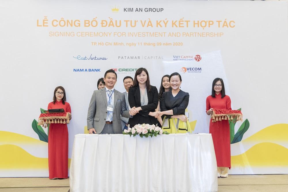 Kim An Group ký kết hợp tác với các quỹ đầu tư và các tổ chức tín dụng