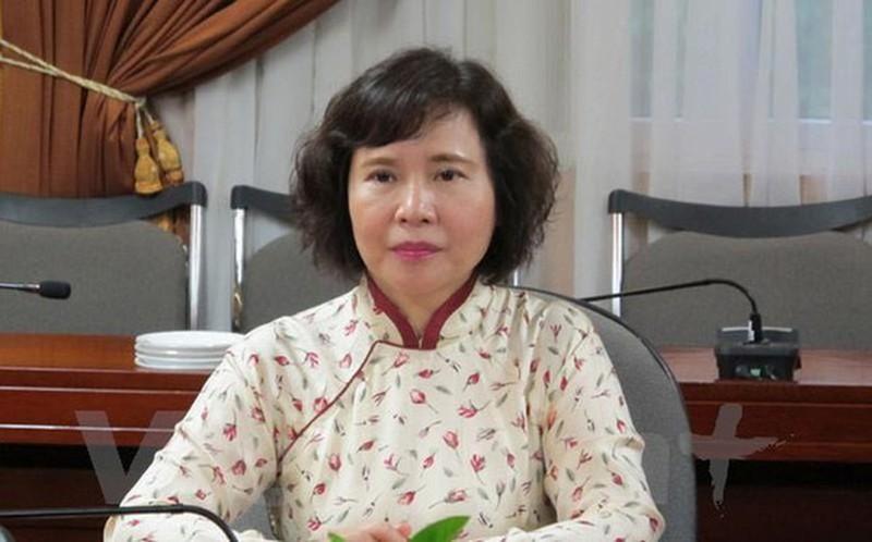 Cựu Thứ trưởng Hồ Thị Kim Thoa và các bị can khác được xác định có giúp sức cho Vũ Huy Hoàng.